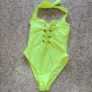 Neon One piece Swim